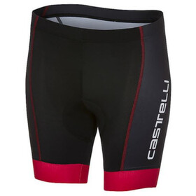 Castelli Future Racer Short Enfant, black/red